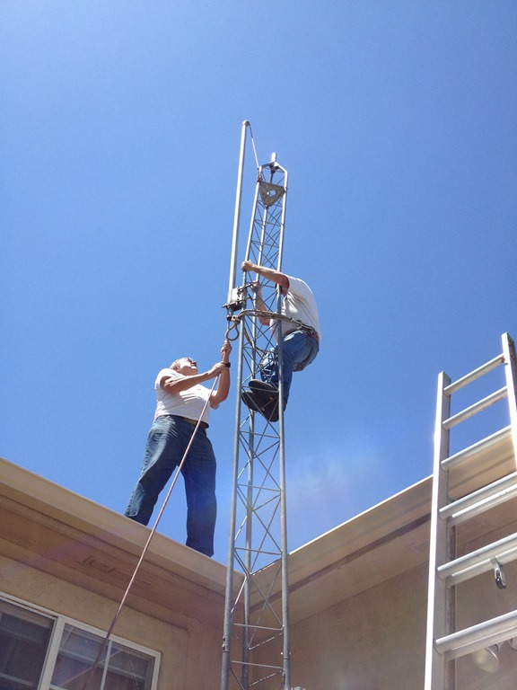 New Hex Beam And Tower For Kd0wqc Ski Country Amateur